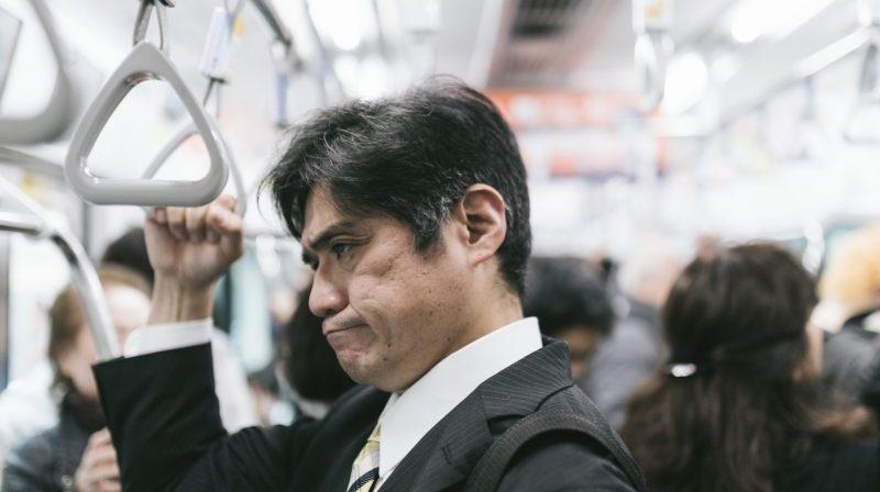 地下鉄でネットもつながらない