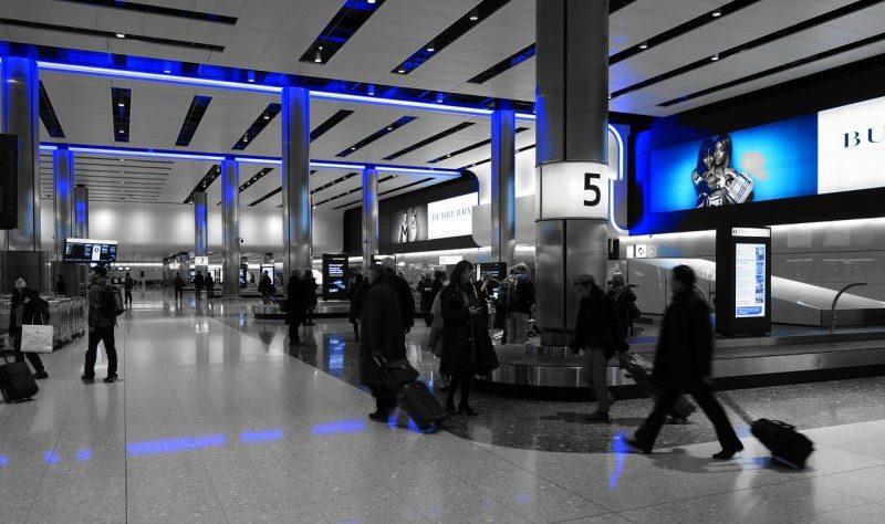 空港荷物受取