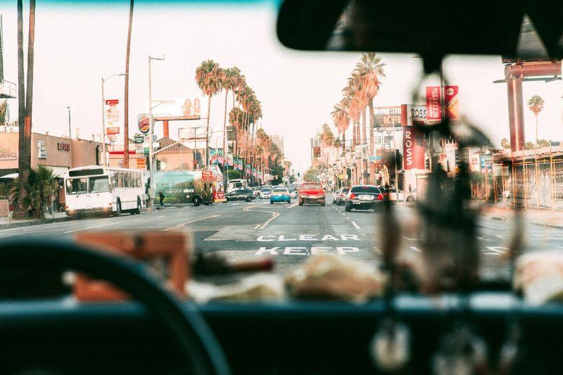 ロサンゼルスの街中